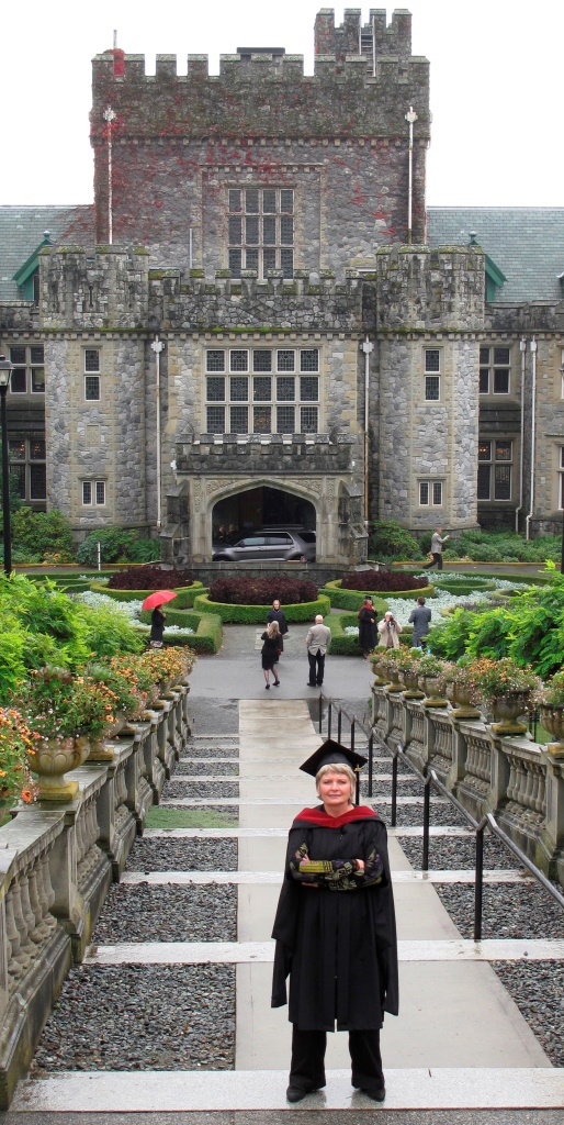 The day I got my MAPC diploma from RRU