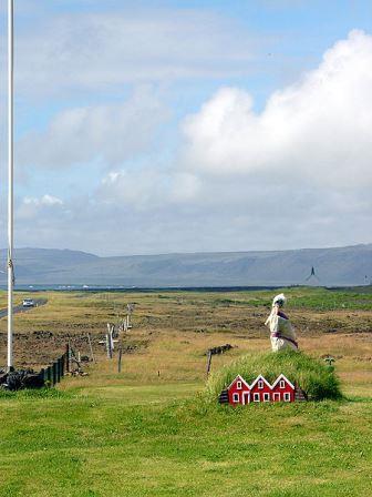 My huldufolk's ancestral home (Elf houses near Strandakirkja in south Iceland by Christian Bickel under CC license)
