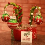 Grinch Tree, a whimsical DIY Christmas gift idea